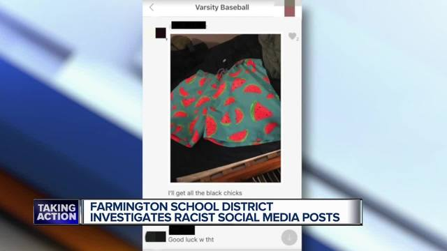 Image result for Farmington school district investigates racist social media posts