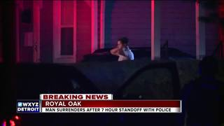 Police standoff ends peacefully in Royal Oak