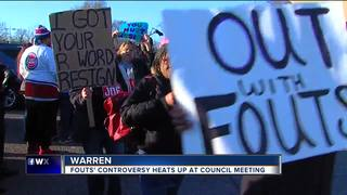 Comments on Fouts fire up Warren council meeting