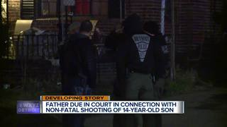 Dad to be arraigned today in son's shooting