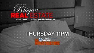 Thursday at 11: Risque realtor's consequences