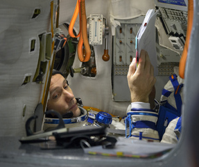 Aww: Check out this astronaut's romantic gesture