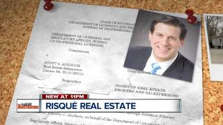 Settlement for risque realtor blasted by clients