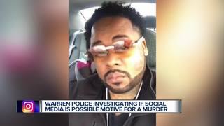 Flashy Facebook posts behind murder in Warren?