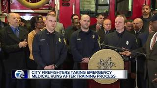 Firefighters take on medical runs and save lives