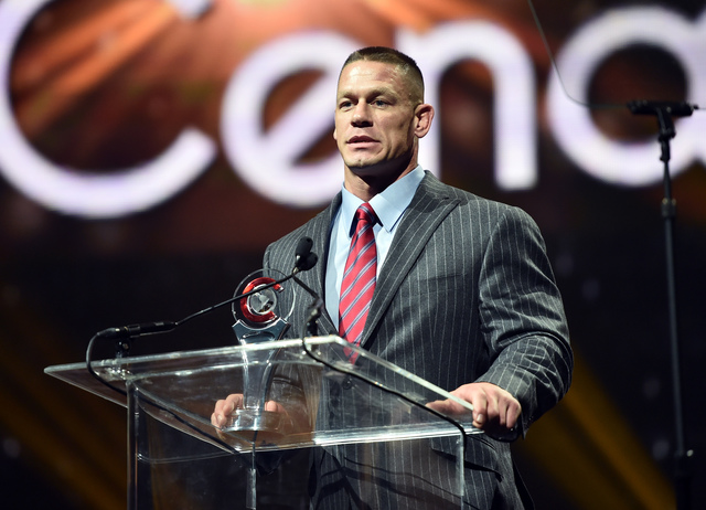 John Cena says goodbye to the Joe Louis Arena