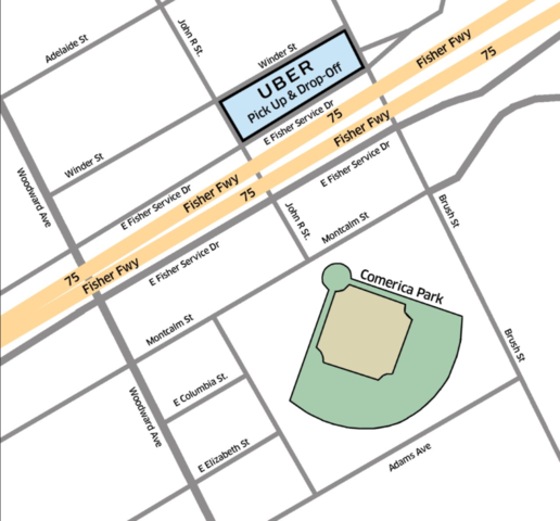 Detroit Tigers 2017 Opening Day Where To Park For The