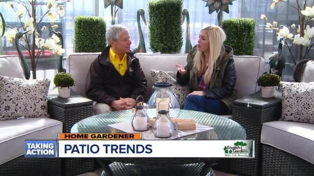 English Gardens- Patio Trends