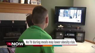 No TV during meals may lower obesity risk