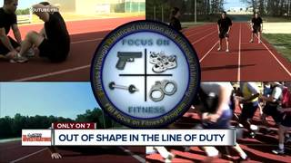 First responders face health risks over fitness