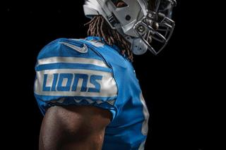 See the all-new Detroit Lions uniforms