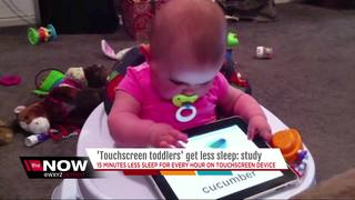 'Touchscreen Toddlers' get less sleep