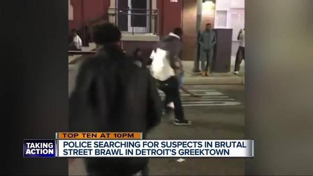 2 men arrested after cellphone video of fight posted online