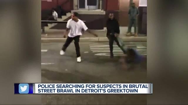 Inkster men charged in Greektown brawl captured on video