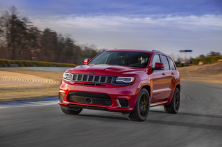 Photos: Jeep Grand Cherokee Trackhawk has 707 hp