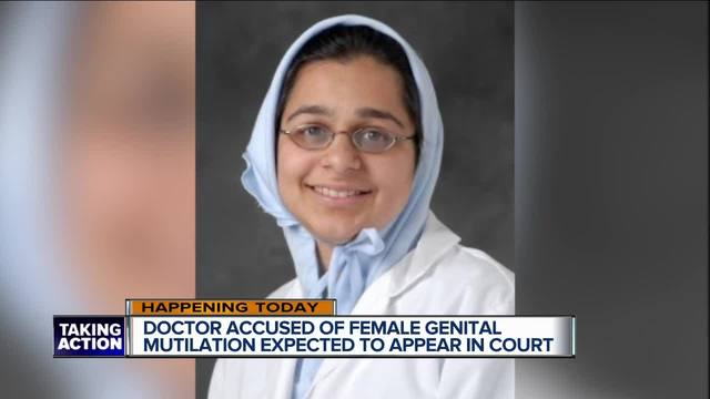 Doctor denies genital mutilation; judge keeps her locked up