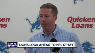 GM Quinn: Lions could draft several positions