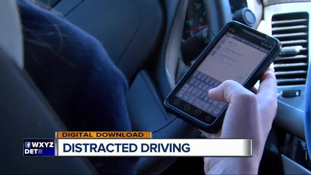 Police stepping up enforcement of distracted driving law violations