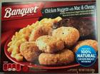 Banquet chicken nugget meals recalled