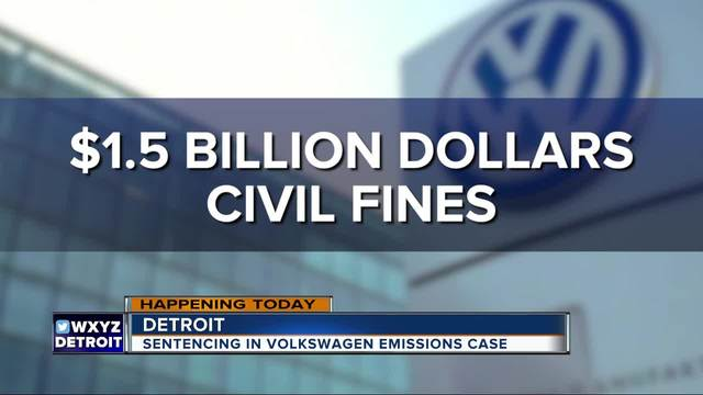 Volkswagen to pay $2.8 billion in U.S. diesel emission scandal