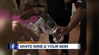 White wine may increase risk of rosacea