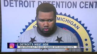 Dad: Son thought injured officers were burglars