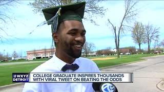 College student's inspiring tweet goes viral