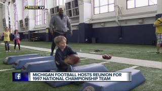 U-M hosts 1997 National Championship reunion