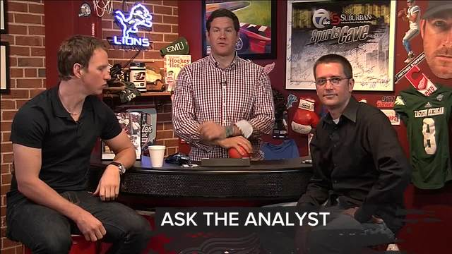 Final thoughts with Justin Abdelkader and Dave Birkett on the 7 Sports Cave