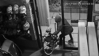 VIDEO: Thieves steal thousands in bicycles