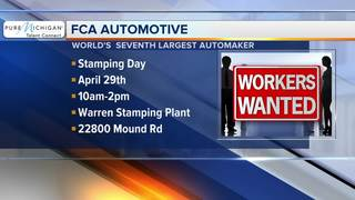 Fiat-Chrysler Automotive in need of workers