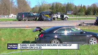 Victims of deadly US-23 crash remembered