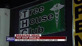 Break-in reported at medical marijuana shop