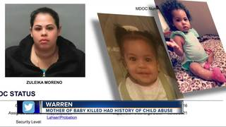 Mother of slain 8-month-old has history of abuse
