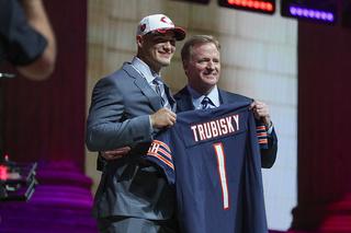 Bears trade up, draft QB Trubisky No. 2 overall
