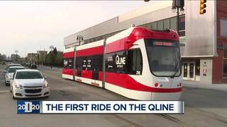 Watch the exclusive first ride on the QLINE