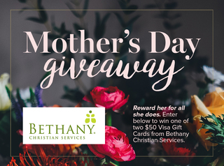 Win a $50 Mother's Day gift card