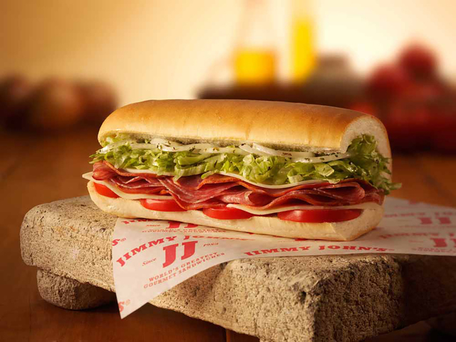 $1 subs at Jimmy John's Tuesday