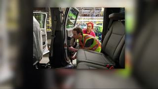 Mark Zuckerberg tours Ford Rouge Plant