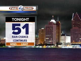FORECAST: Rain chances increase this weekend