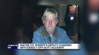 Off-duty deputy charged in man's death