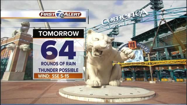 FORECAST: Rain continues into Monday