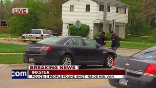 Three people shot in Inkster, police say