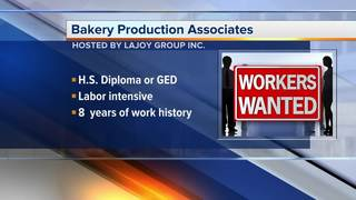 Plymouth bakery needs production associates
