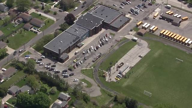 Area school evacuated after students fall ill