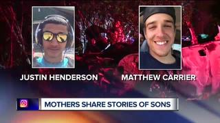Mothers share grief after sons in deadly crash