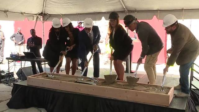 Groundbreaking kicks off Packard Plant redevelopment