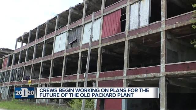 Groundbreaking kicks off Packard Plant redevelopment