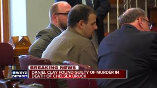 Jury convicts Clay of Chelsea Bruck murder