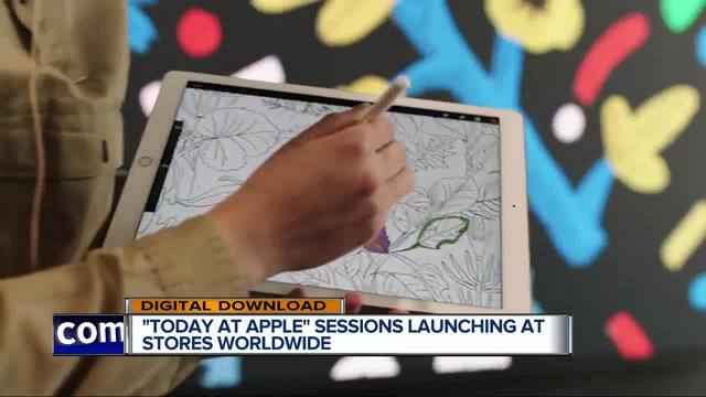 Apple Stores turn into classrooms for 'Today at Apple'